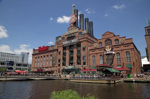 Power Plant Baltimore via Flickr CC RyanCrierie