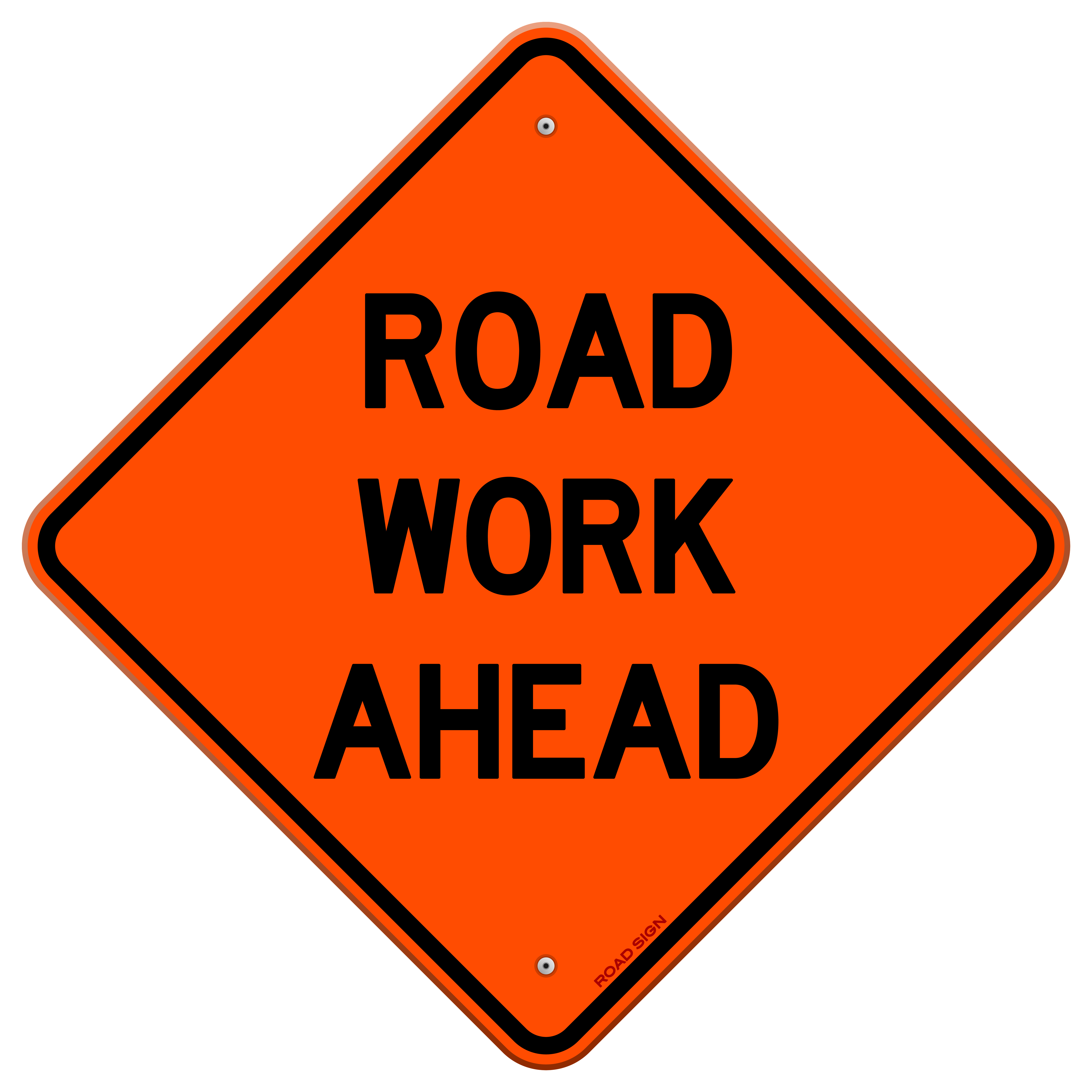 road work ahead sign shutterstock_115712851